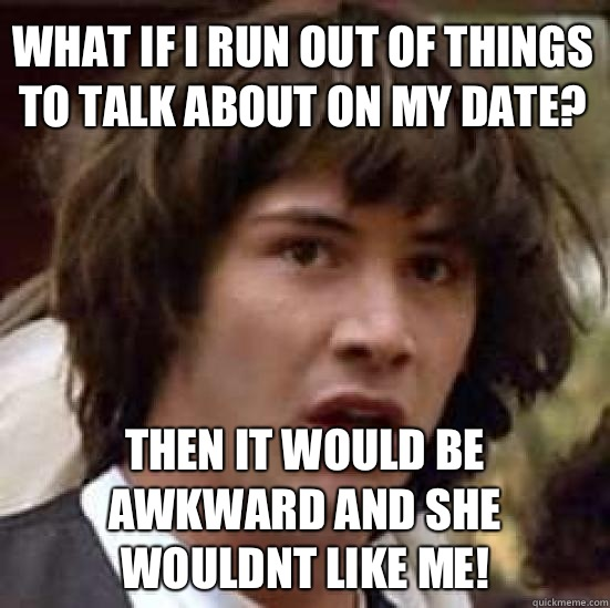 Things to talk about on a date