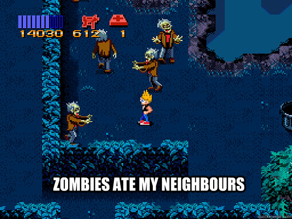 Zombies ate my neighbours - Zombies ate my neighbours  Misc