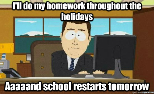 Do My Homework So I Don't Have To!