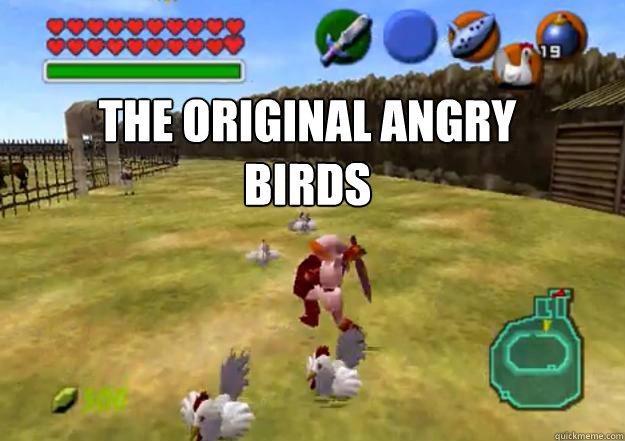The Original angry birds