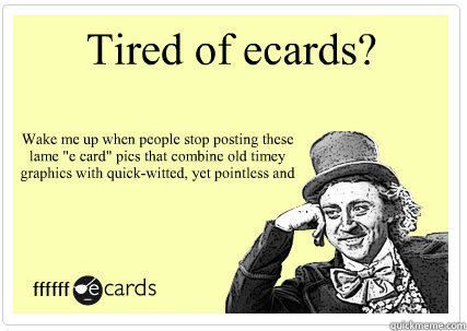 Wake up ecards