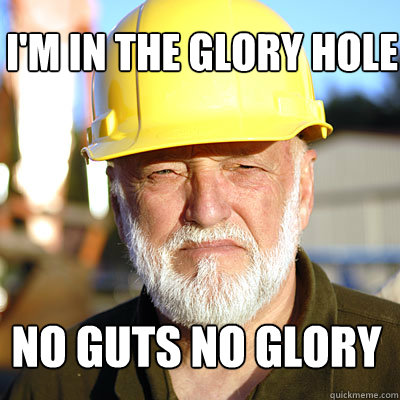 Glory hole gold rush