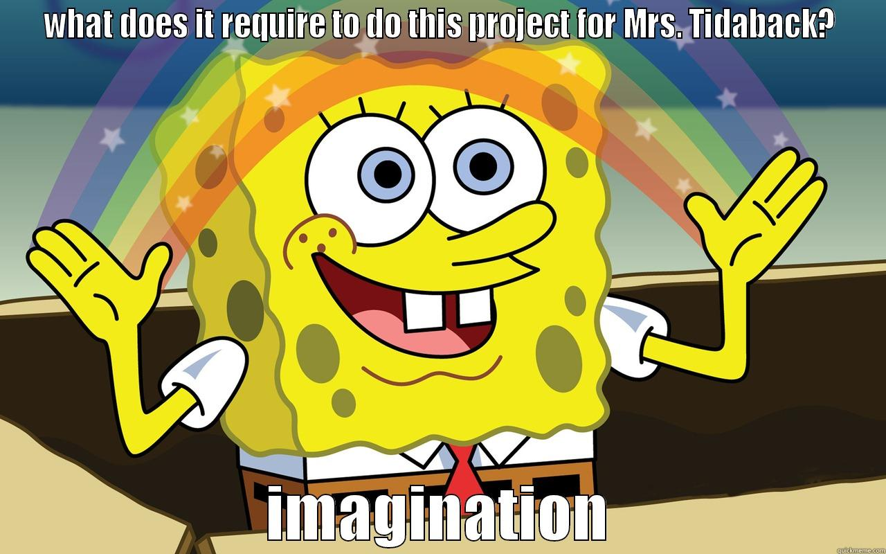 Spongebob imagination