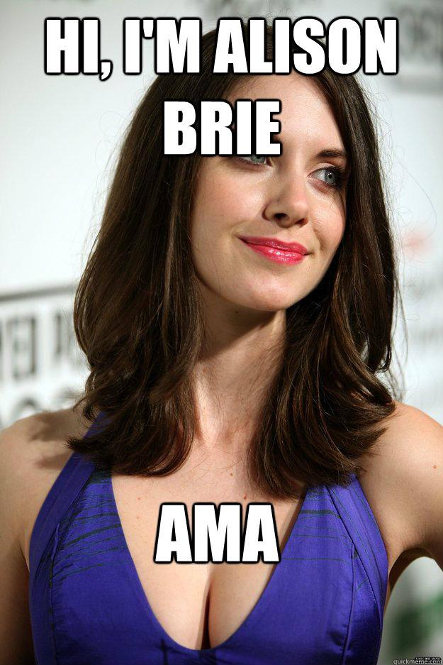 Alison Brie ama