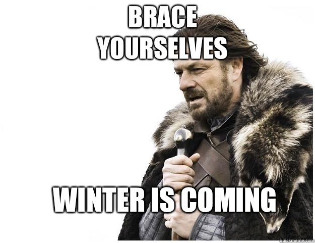 Brace yourselves Winter is coming - Brace yourselves Winter is coming  Imminent Ned
