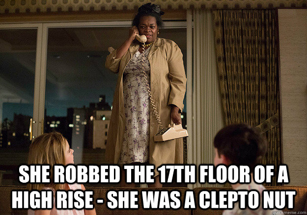 She Robbed The 17th Floor Of A High Rise