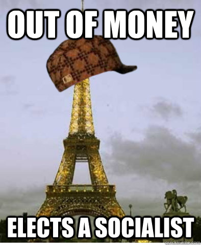 out of money elects a socialist