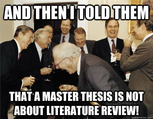 Master thesis about