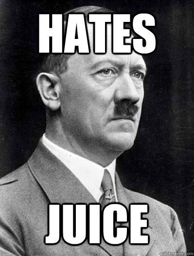 hates juice