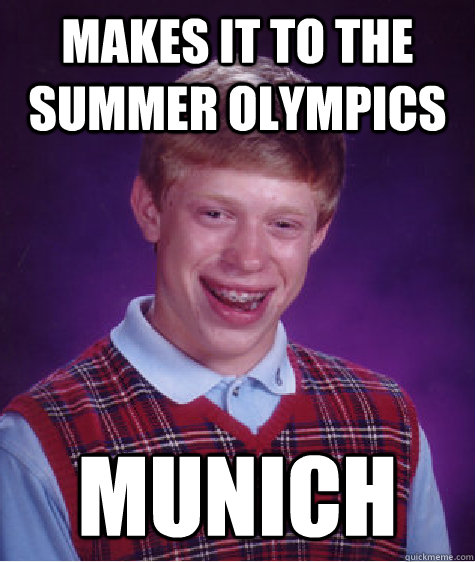 makes it to the summer olympics munich  - makes it to the summer olympics munich   BLB car