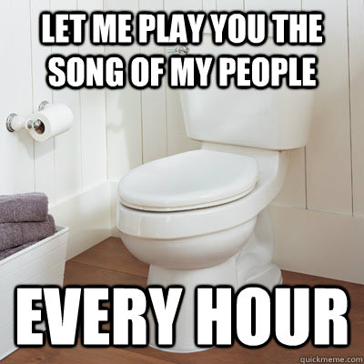 LET ME PLAY YOU THE SONG OF MY PEOPLE EVERY HOUR