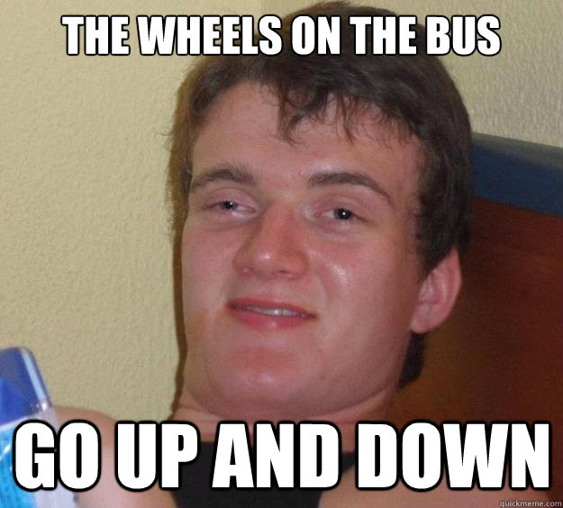 the wheels on the bus go up and down - the wheels on the bus go up and down  10 Guy