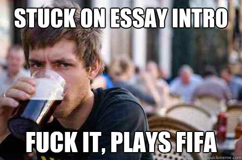 stuck on college essay