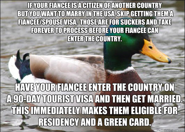 If your fiancee is a citizen of another country  but you want to marry in the USA, skip getting them a fiancee/spouse visa.  Those are for suckers and take forever to process before your fiancee can enter the country.  Have your fiancee enter the country
