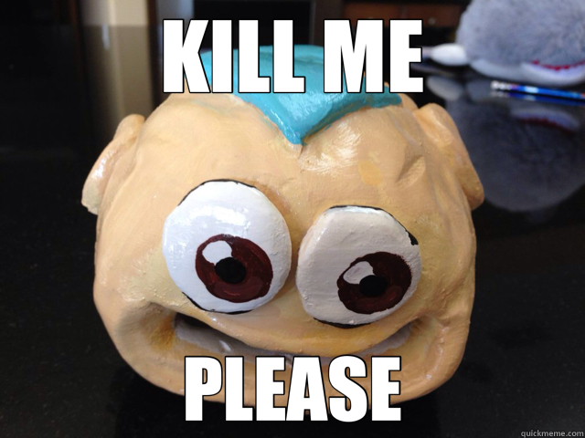KILL ME PLEASE - KILL ME PLEASE  Aang Fish