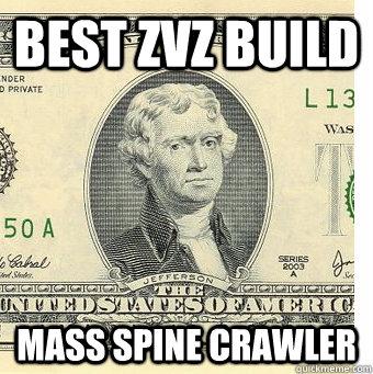 Best zvz build mass spine crawler