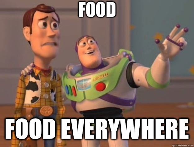 Food Food everywhere - Food Food everywhere  Toy Story