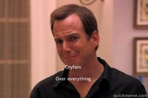 Cryfam    Over everything