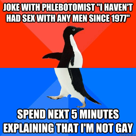 Gay sex jokes