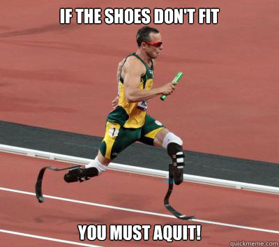 If the shoes don't fit you must aquit! - If the shoes don't fit you must aquit!  Misc