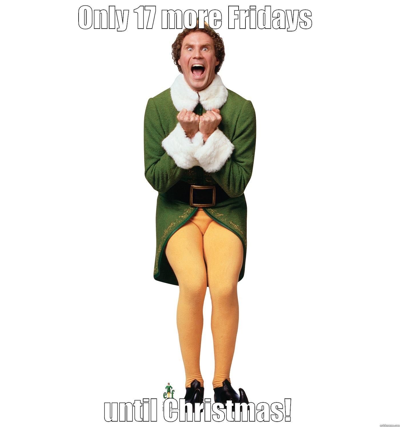 Friday's until Christmas - quickmeme