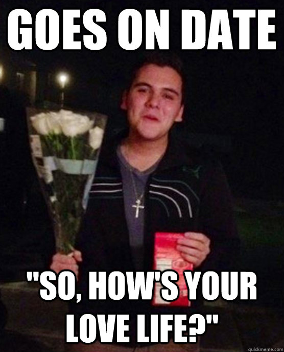 Goes on date