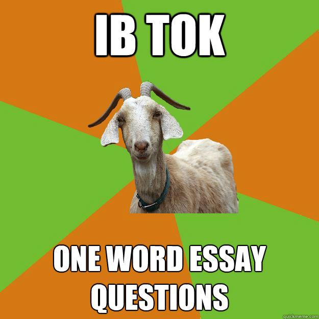 spm one word essays