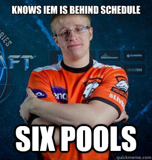 Knows IEM is behind Schedule  Six pools - Knows IEM is behind Schedule  Six pools  Misc
