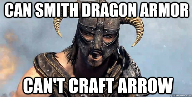 can smith dragon armor can't craft arrow - can smith dragon armor can't craft arrow  skyrim