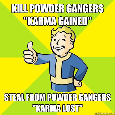 Kill powder gangers