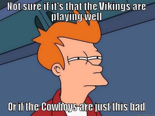 Vikings Vs Cowboyswtf Quickmeme