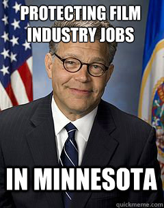 Protecting film industry jobs IN MINNESOTA