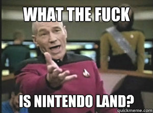 What the fuck IS nintendo land?