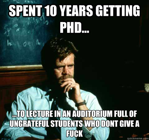 Getting a phd