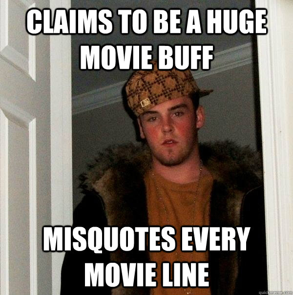 Misquoted movie lines