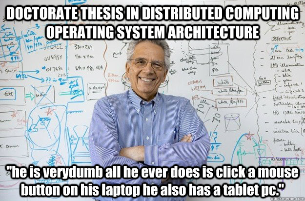 Computing Pc Architecture Thesis A In Doctorate Ever System