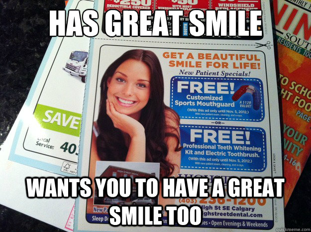 has great smile wants you to have a great smile too - has great smile wants you to have a great smile too  Misc