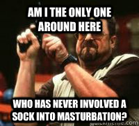 Am I the only one around here Who has never involved a sock into masturbation?