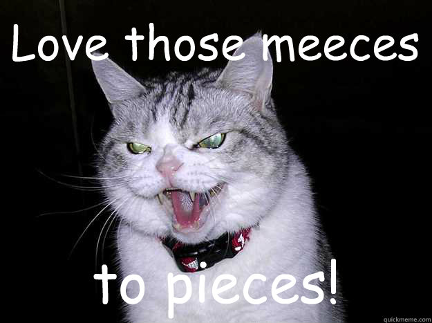 Love those meeces to pieces! - Love those meeces to pieces!  Misc