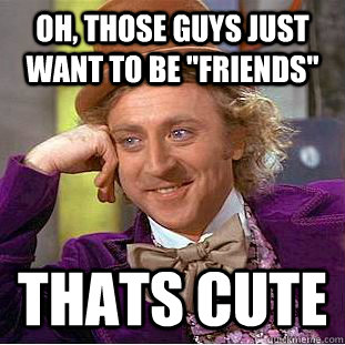 when guys just want to be friends