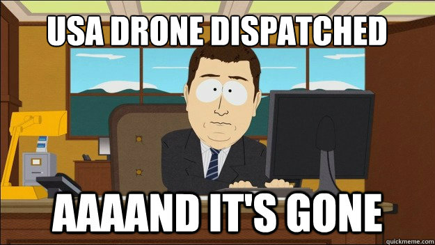 USA Drone Dispatched