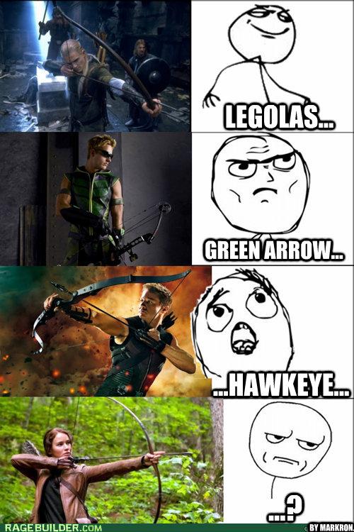 legolas green arrow hawkeye by markron