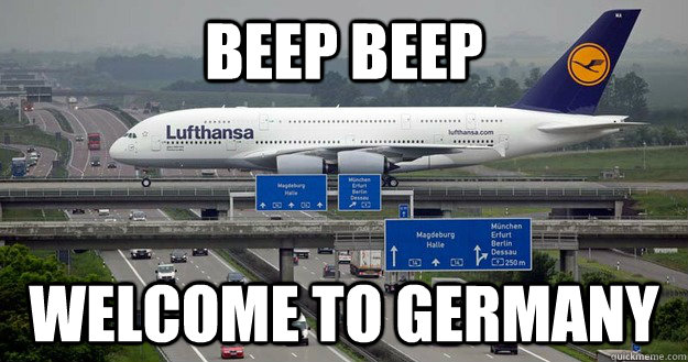 BEEP BEEP Welcome to Germany - BEEP BEEP Welcome to Germany  Humble Civic Airplane
