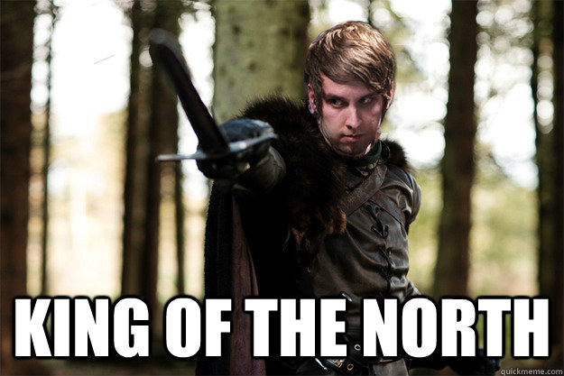 King of the north -  King of the north  Naniwa - king of the north
