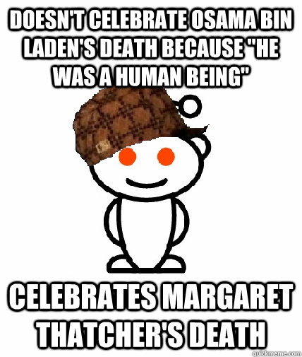 Doesn't celebrate Osama Bin Laden's death because