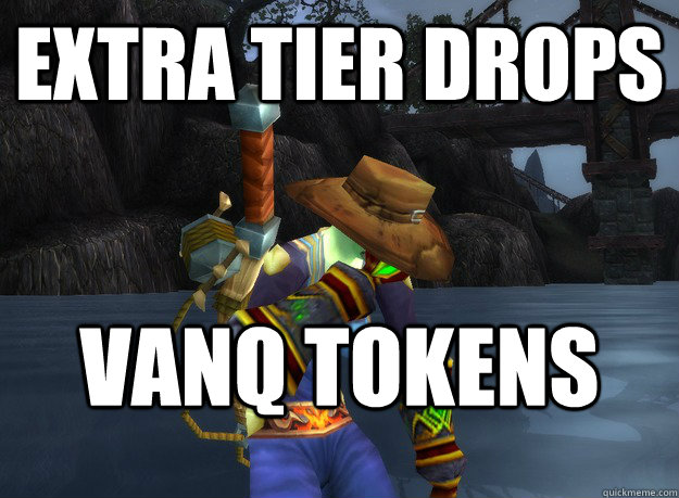 Extra tier drops VANQ TOKENS