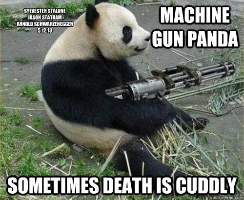 panda machine gun