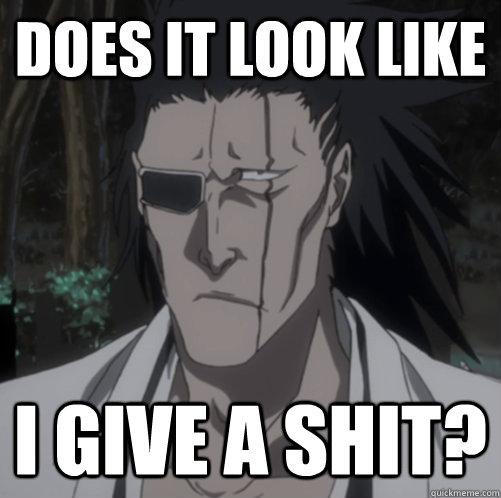 Kenpachi And Anime Memes Quickmeme