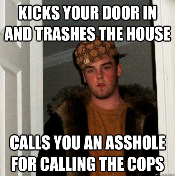 Cop called me an asshole