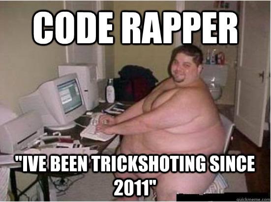 Guy code fat guy